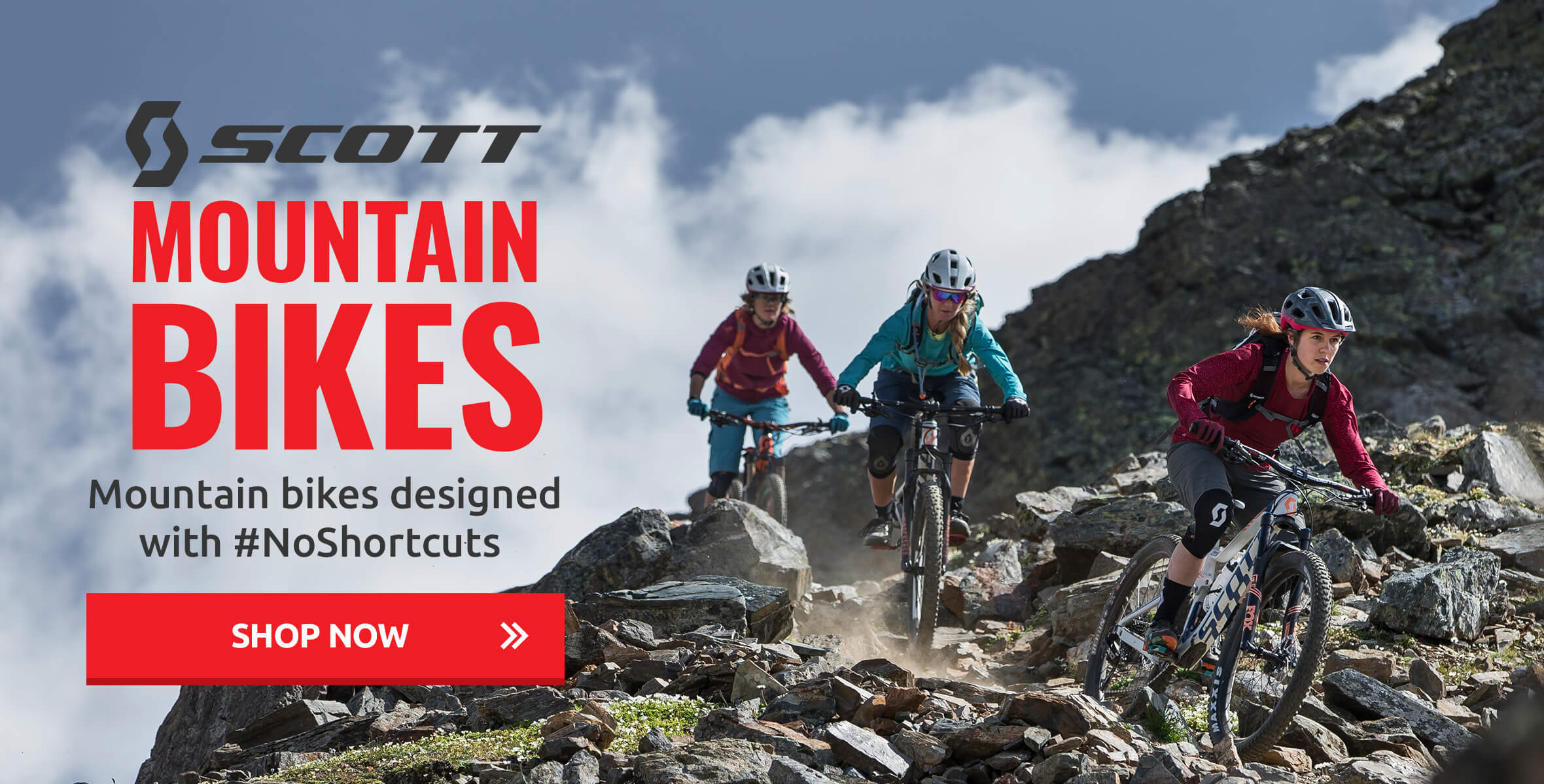 Scott Bikes - Mountain Bikes Designed with #NoShortcuts