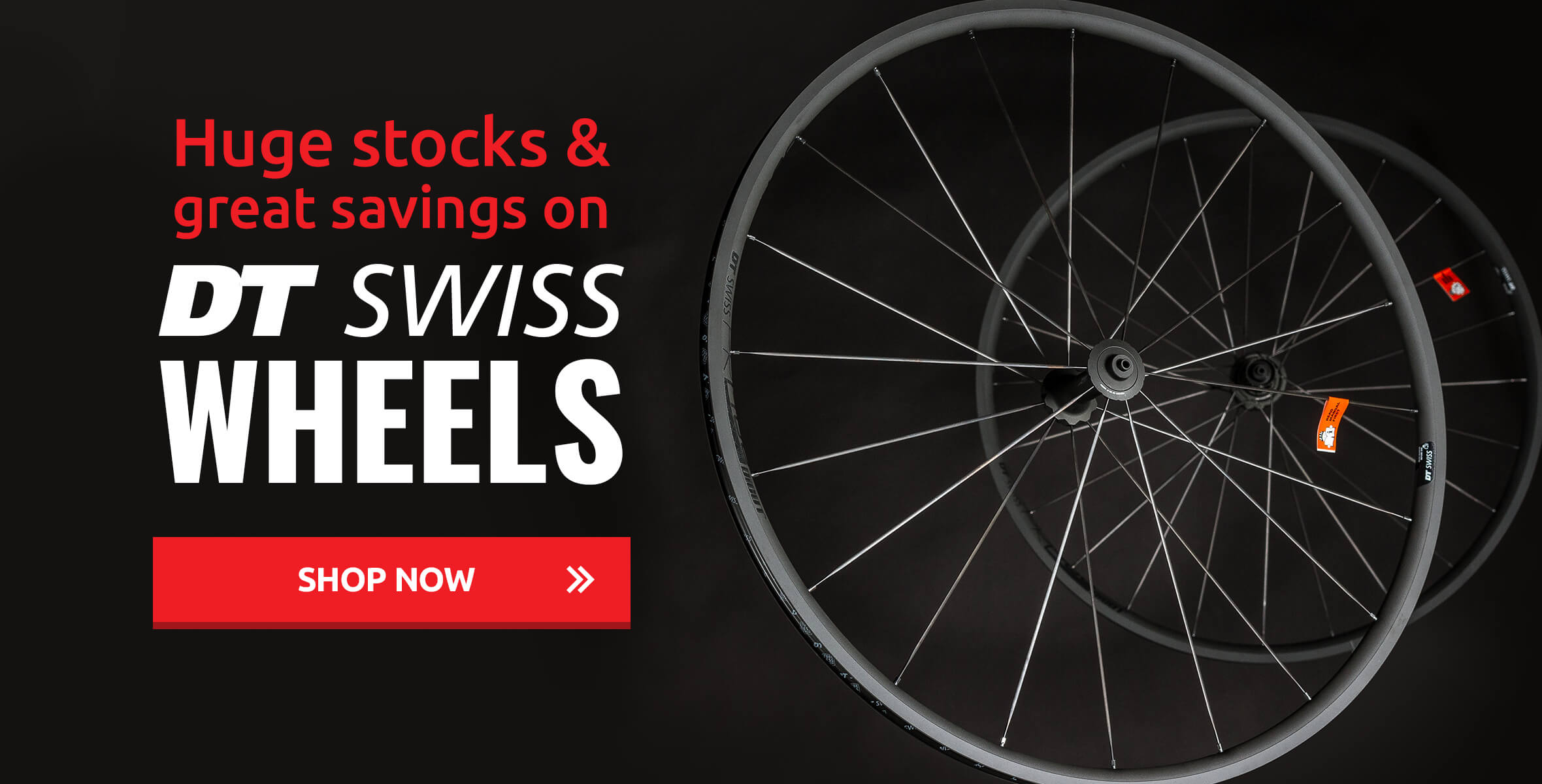 Huge Stocks & Great Savings on DT Swiss Wheels