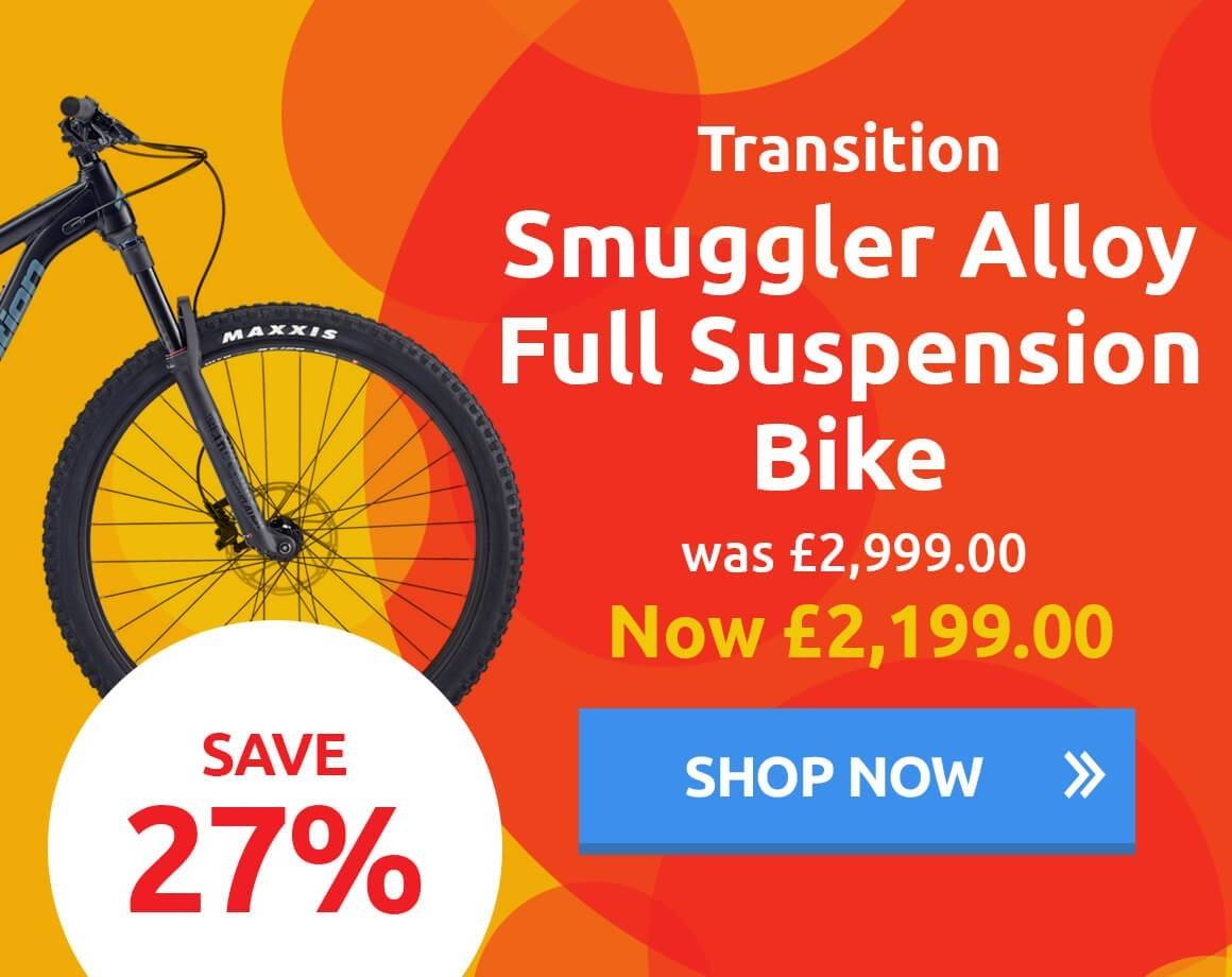Transition Smuggler Full Suspension Bike