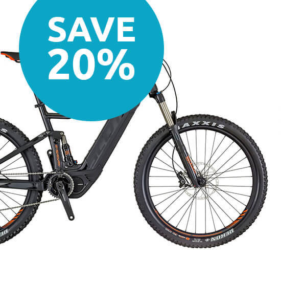 Scott E-Spark 730 Full Suspension e-Bike - 27.5 Inch Plus - 2018