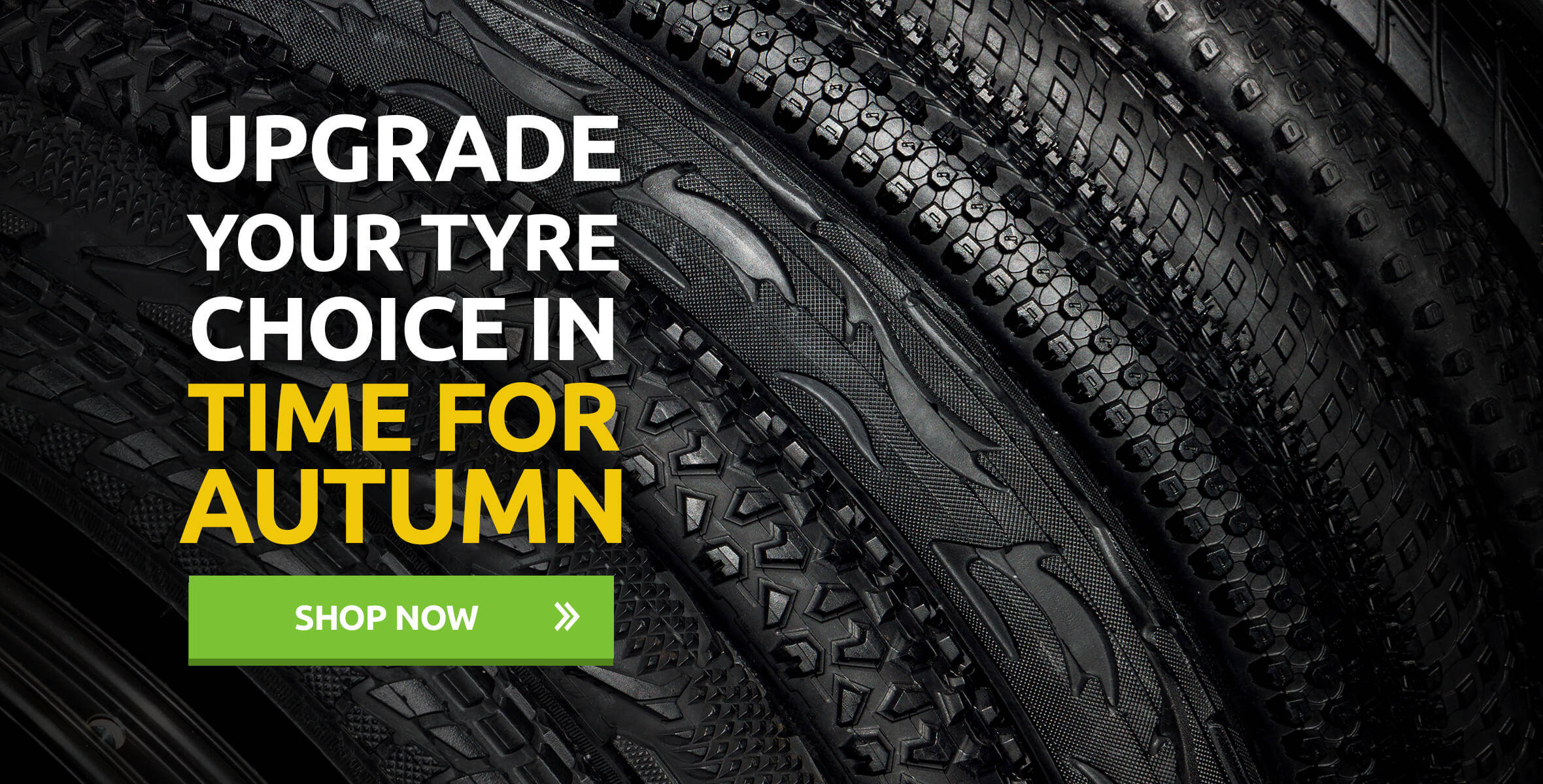 Upgrade Your Tyre Choice In Time For Autumn