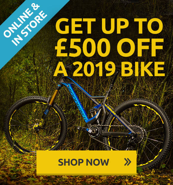 Trade in your old bike to save £££ on your upgrade