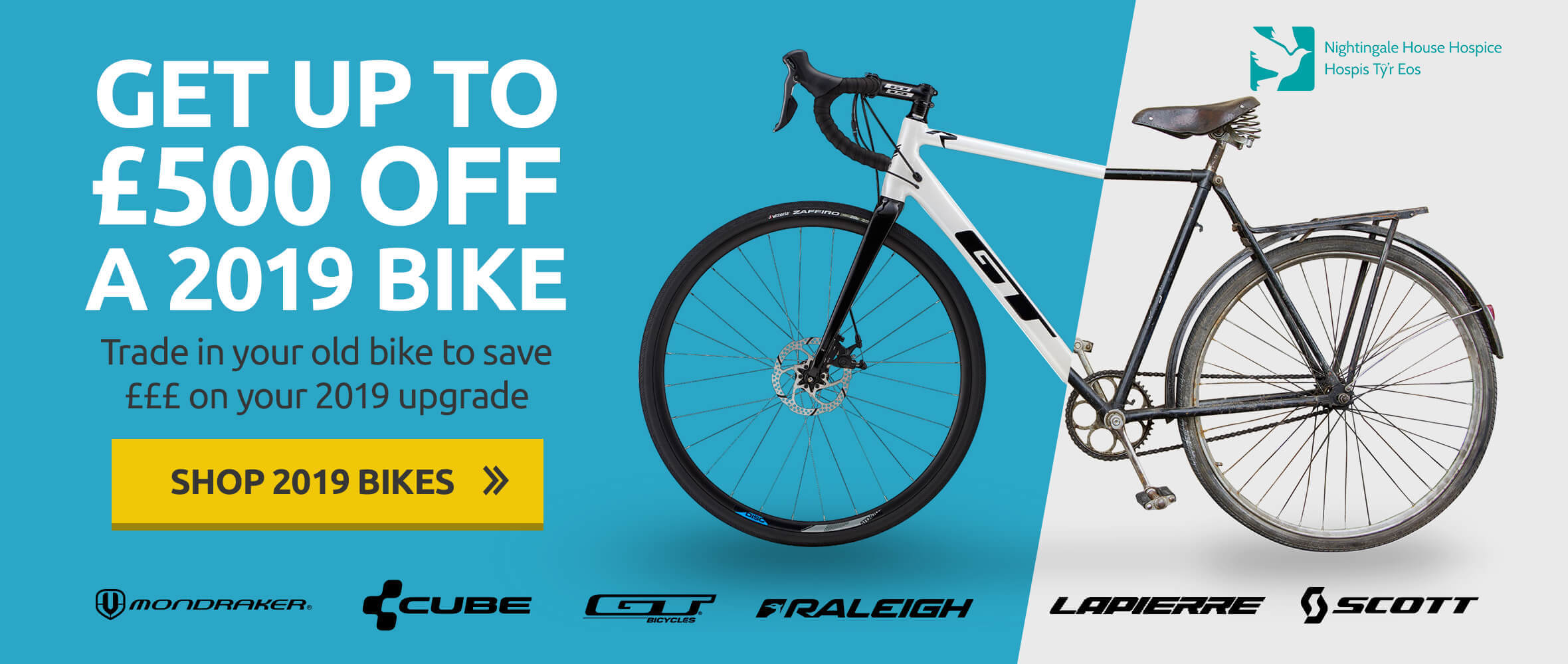 Get up to £500 off a 2019 bike