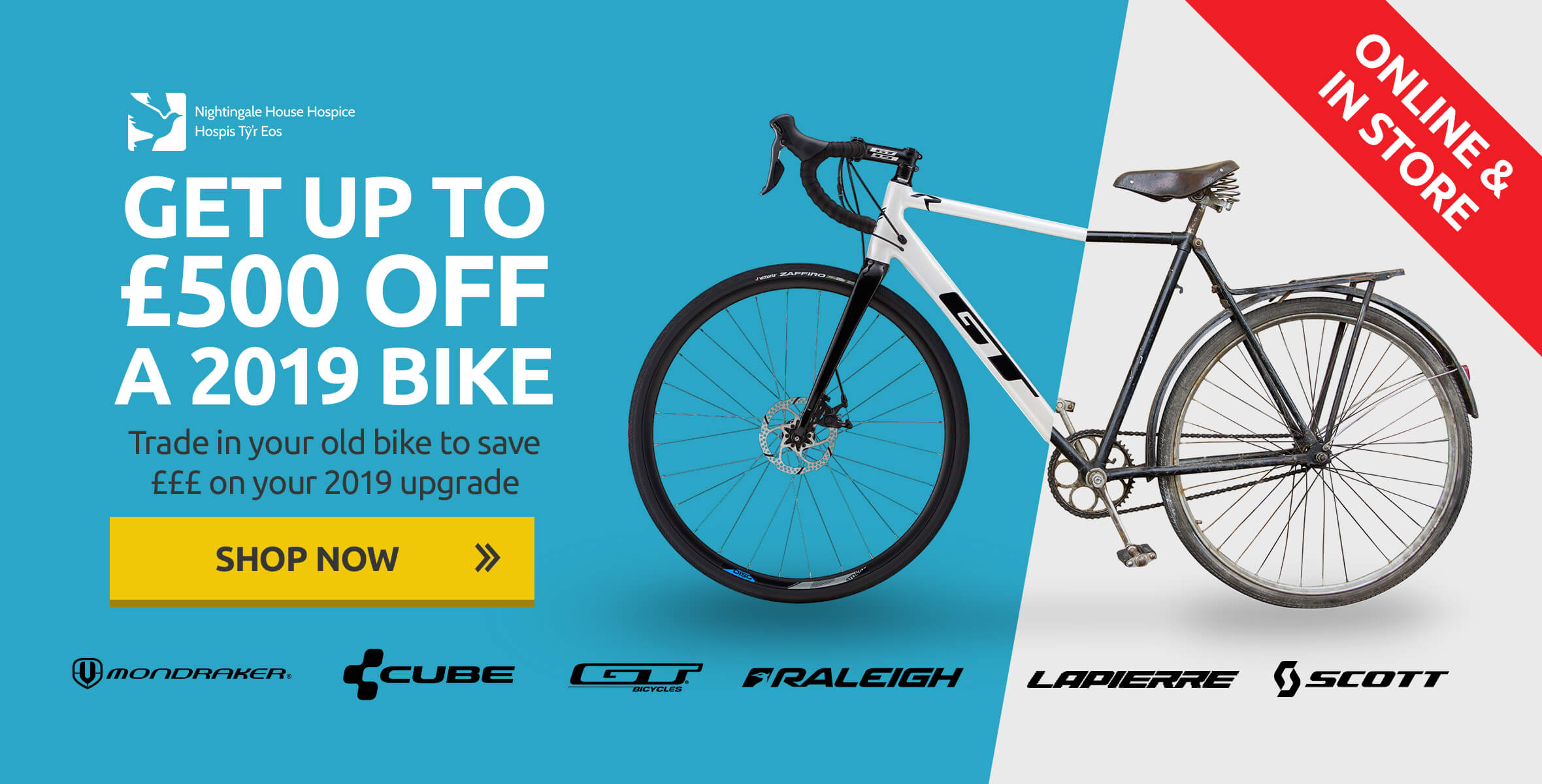 Trade in Your Old Bike to Save £££ on Your 2019 Upgrade