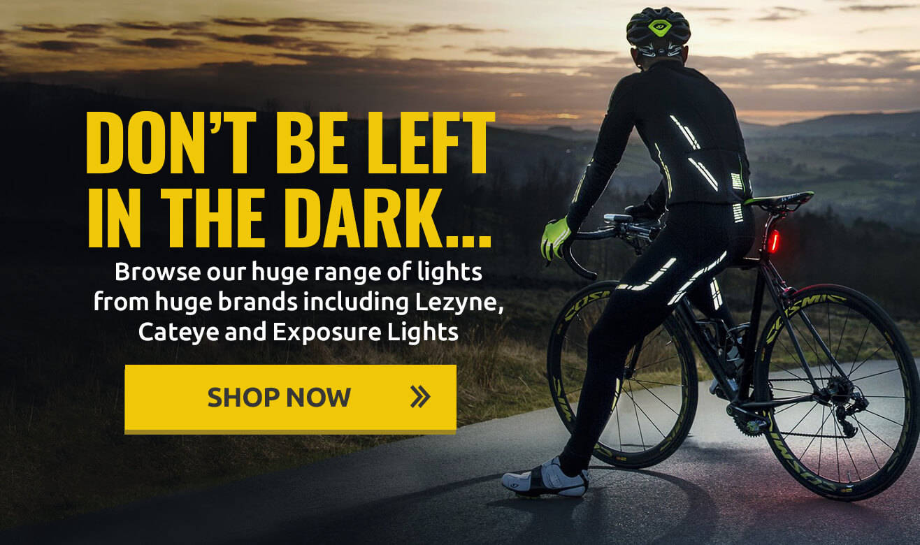 Don't be left in the dark… Shop our huge range of lights