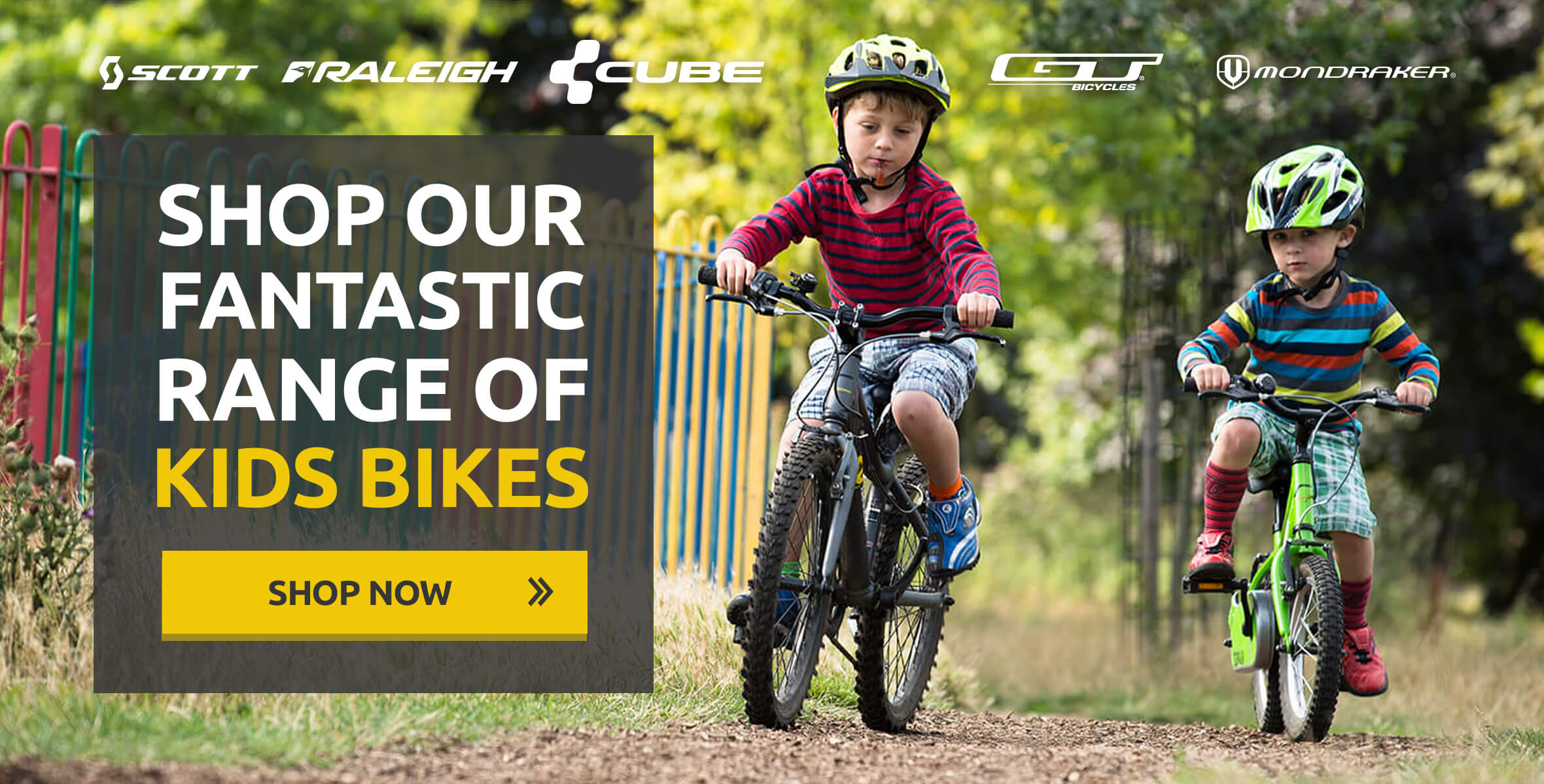 Shop Our Fantastic Range of Kids Bikes