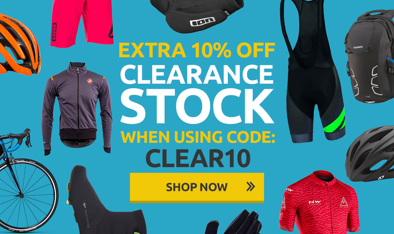 Extra 10% Off Clearance Stock