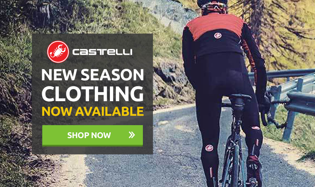 Castelli New Season Clothing - In Stock Now