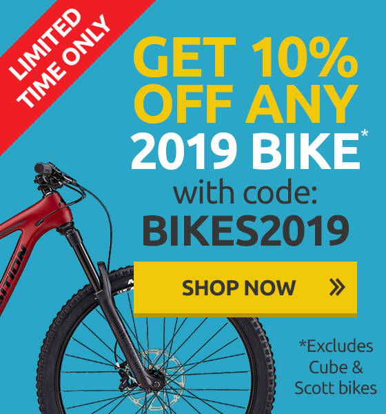 10% off 2019 Bikes
