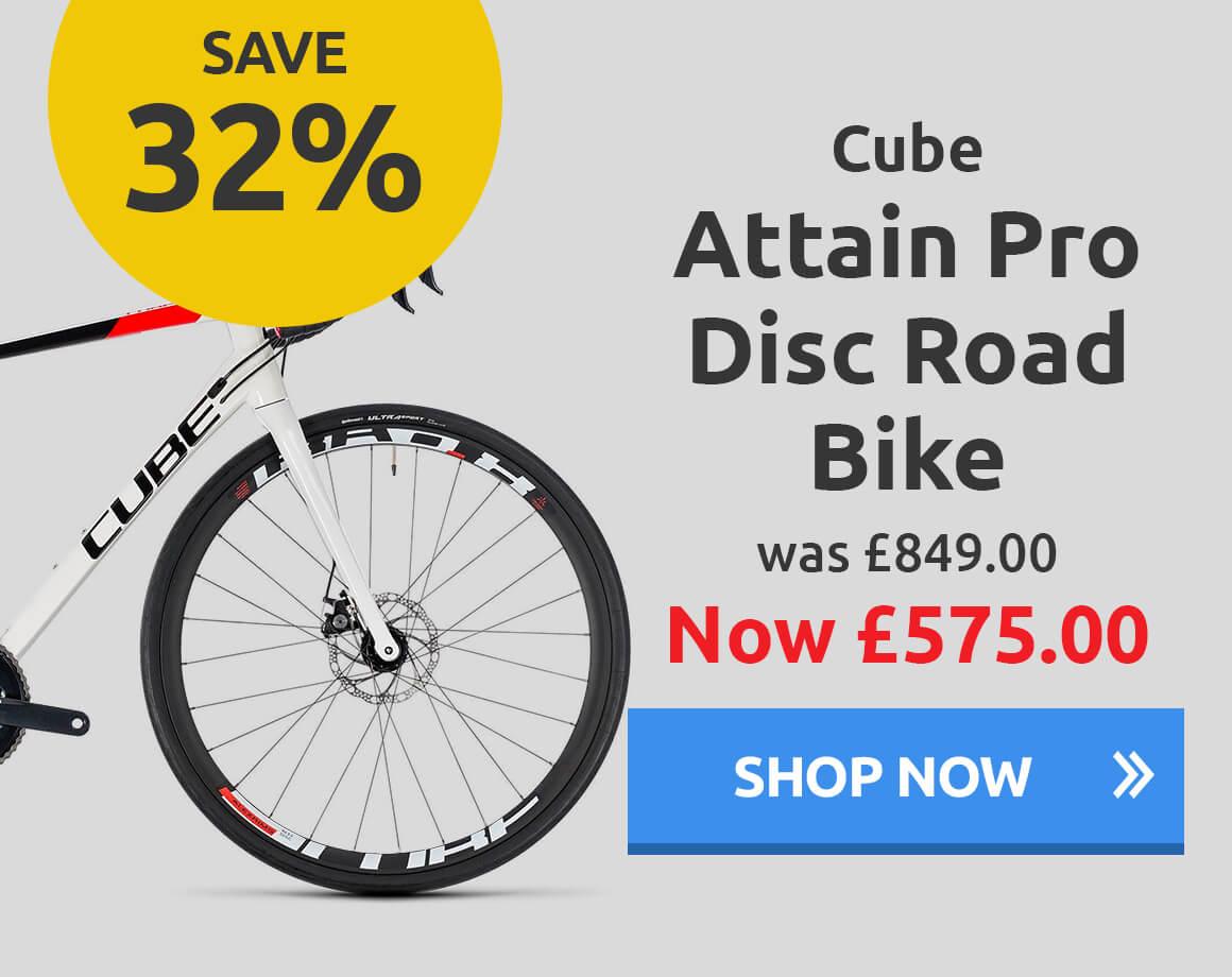 Cube Attain Pro Disc Road Bike