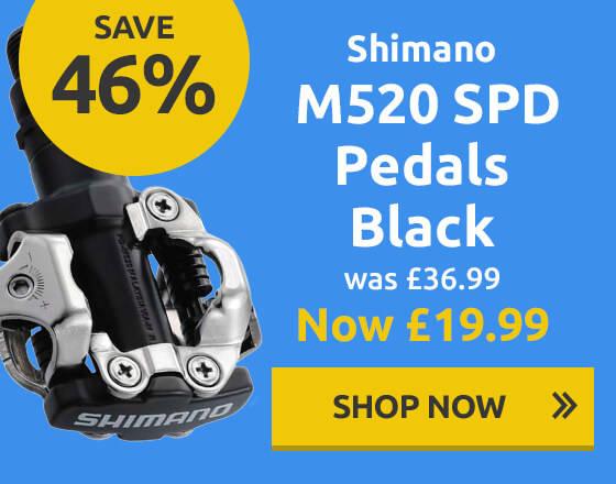 Shimano M520 SPD Pedals Black