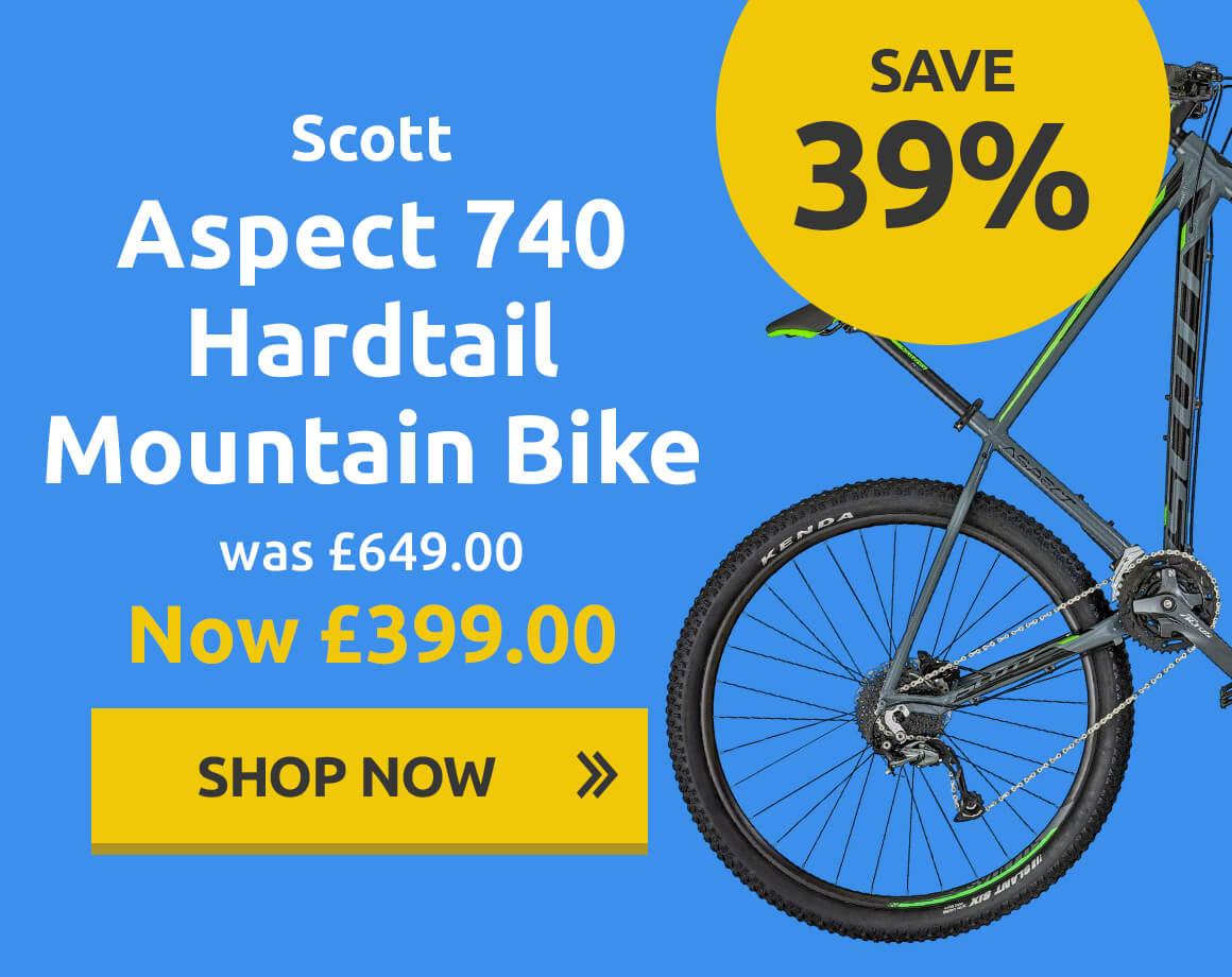 Scott Aspect 740 Hardtail Mountain Bike