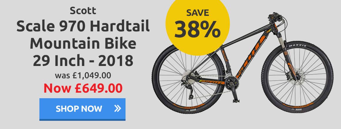 Scott Scale 970 Hardtail Mountain Bike 29 Inch 2018