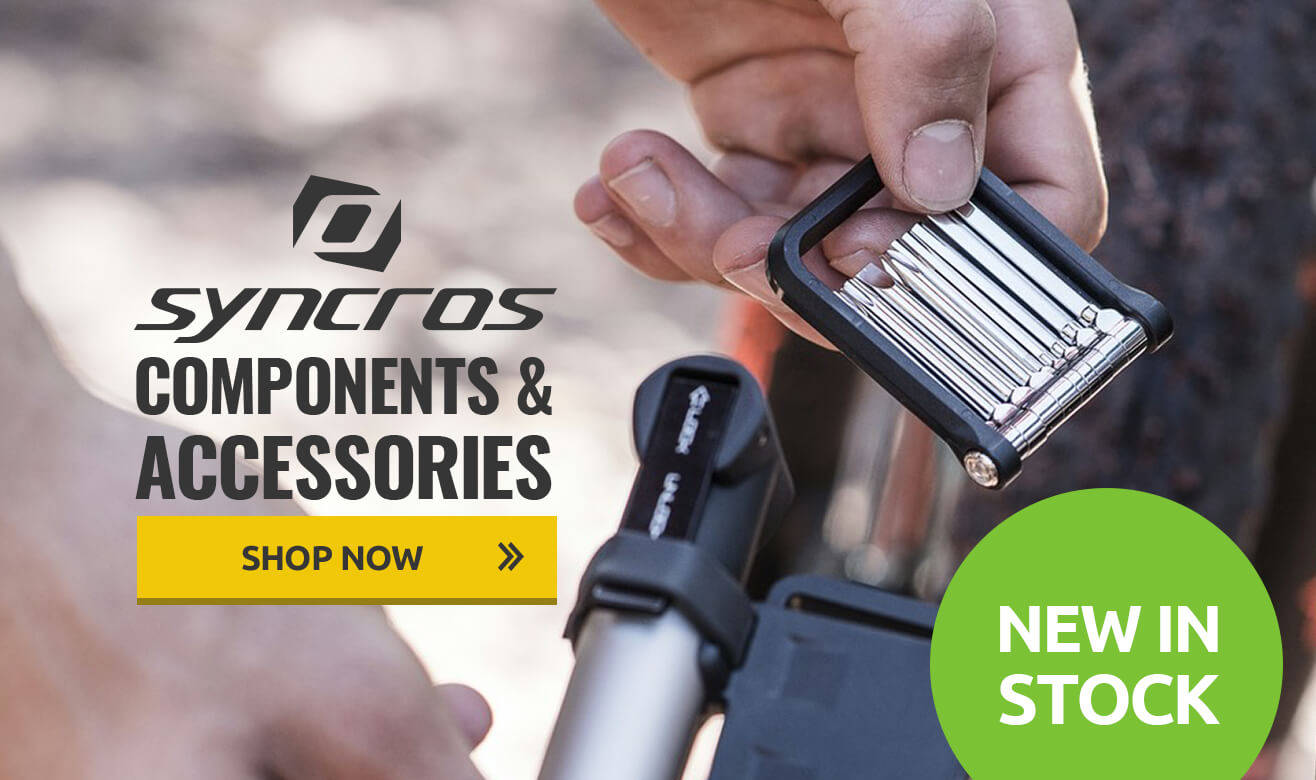New In - Syncros Components & Accessories
