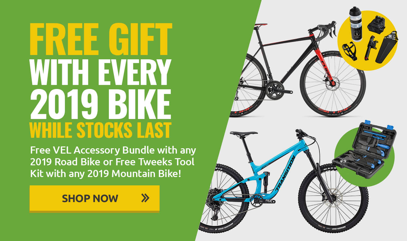 Free Gift With Every 2019 Bike