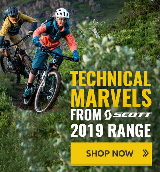 Technical marvels from Scott's 2019 range