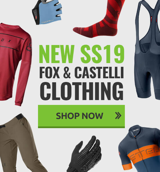 New SS19 Fox & Castelli Clothing now in stock!