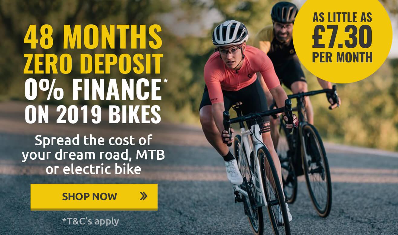 0% Finance with Zero Deposit