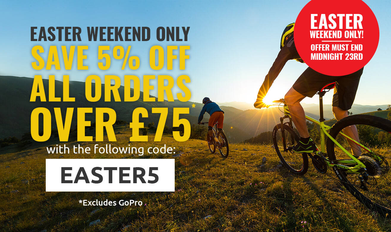 Save 5% Off All Orders Over £75 - EASTER5