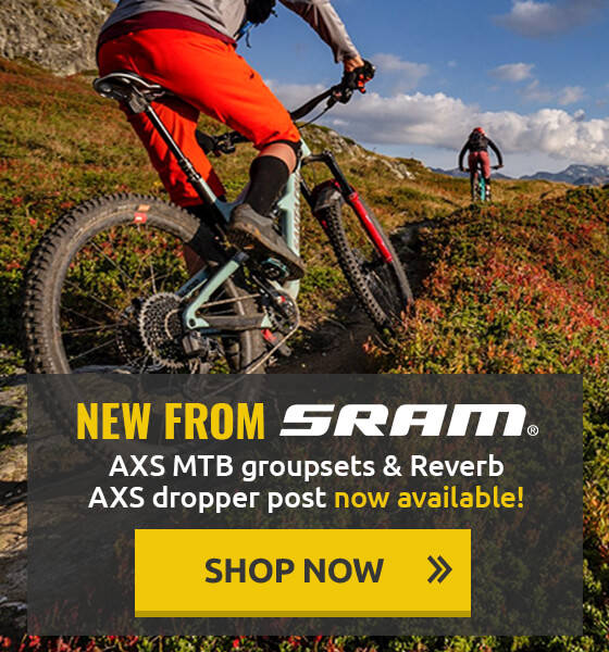 New Sram AXS MTB Groupsets & Reverb AXS Dropper post now available!