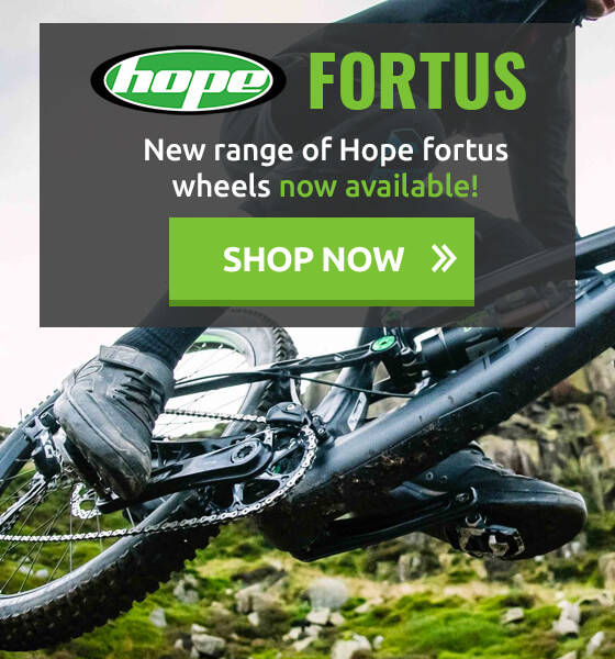 New range of Hope Fortus Wheels Now Available