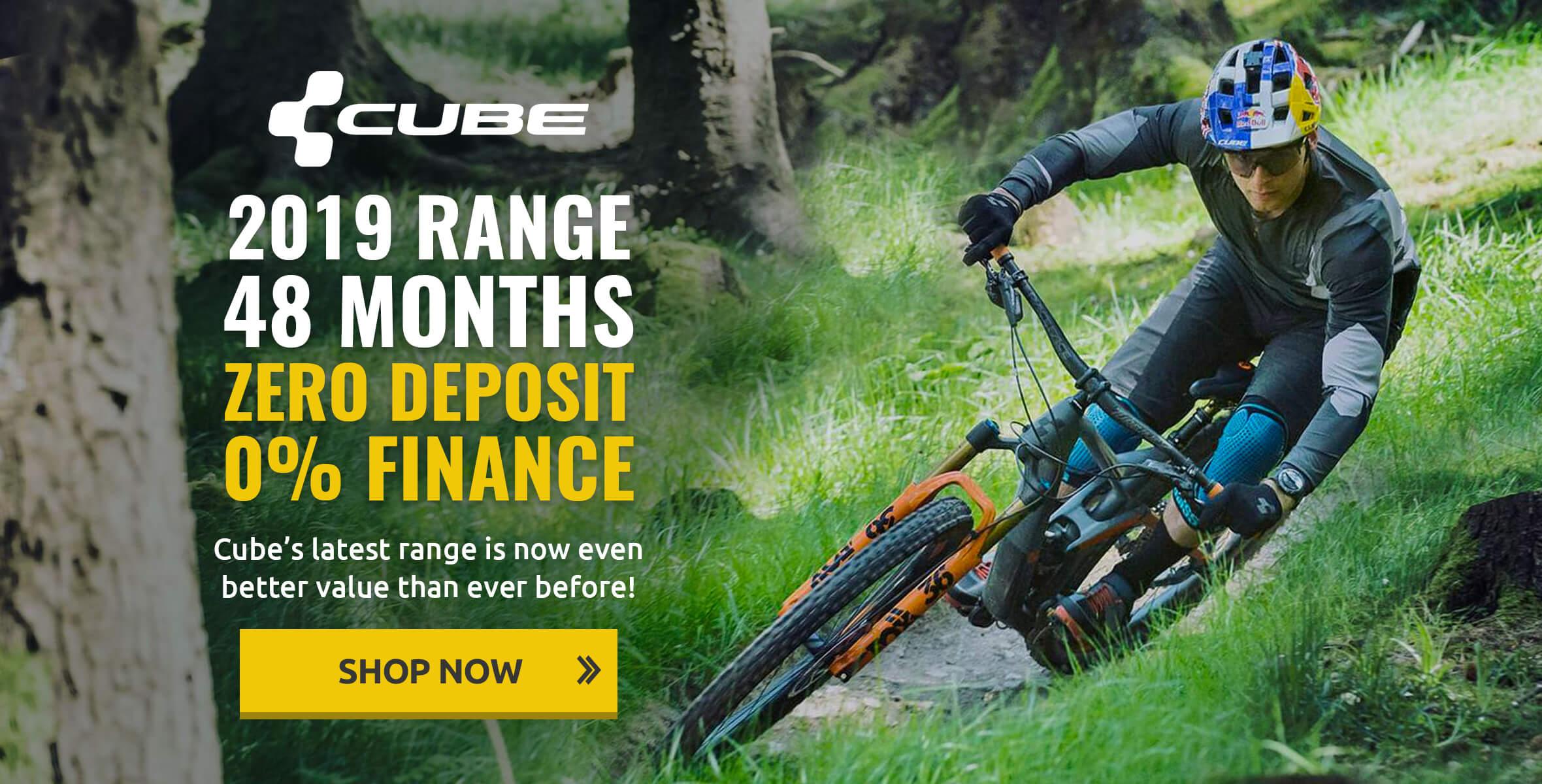 Cube 2019 Range Zero Deposit 0% Finance