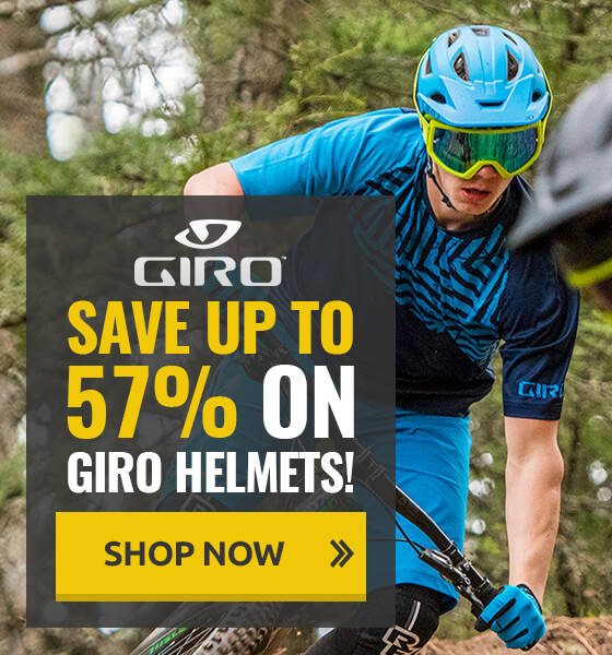 Save up to 57% on Giro Helmets!