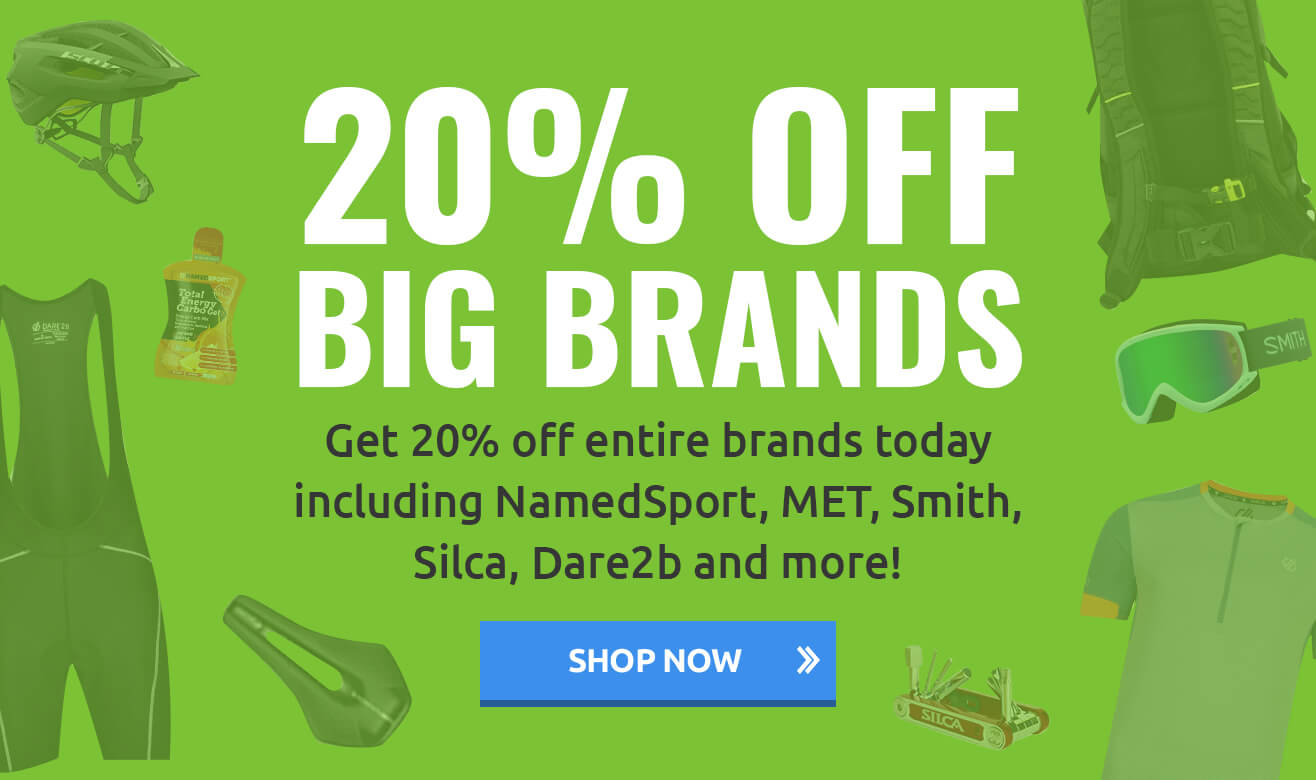 20% off Big Brands