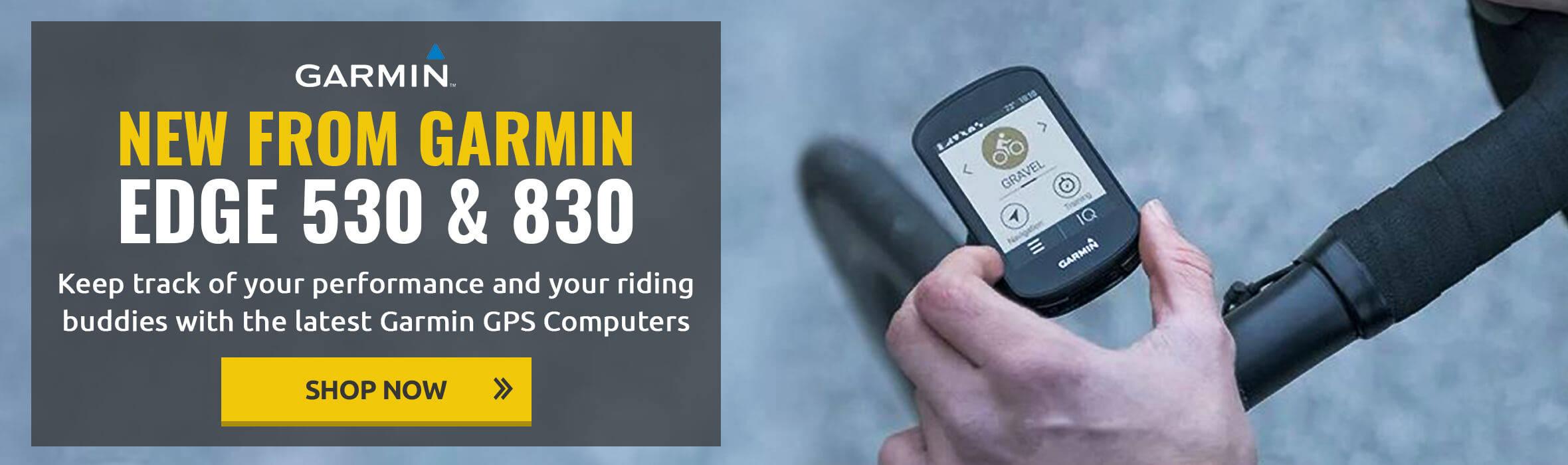 New Garmin Edge 530 & 830