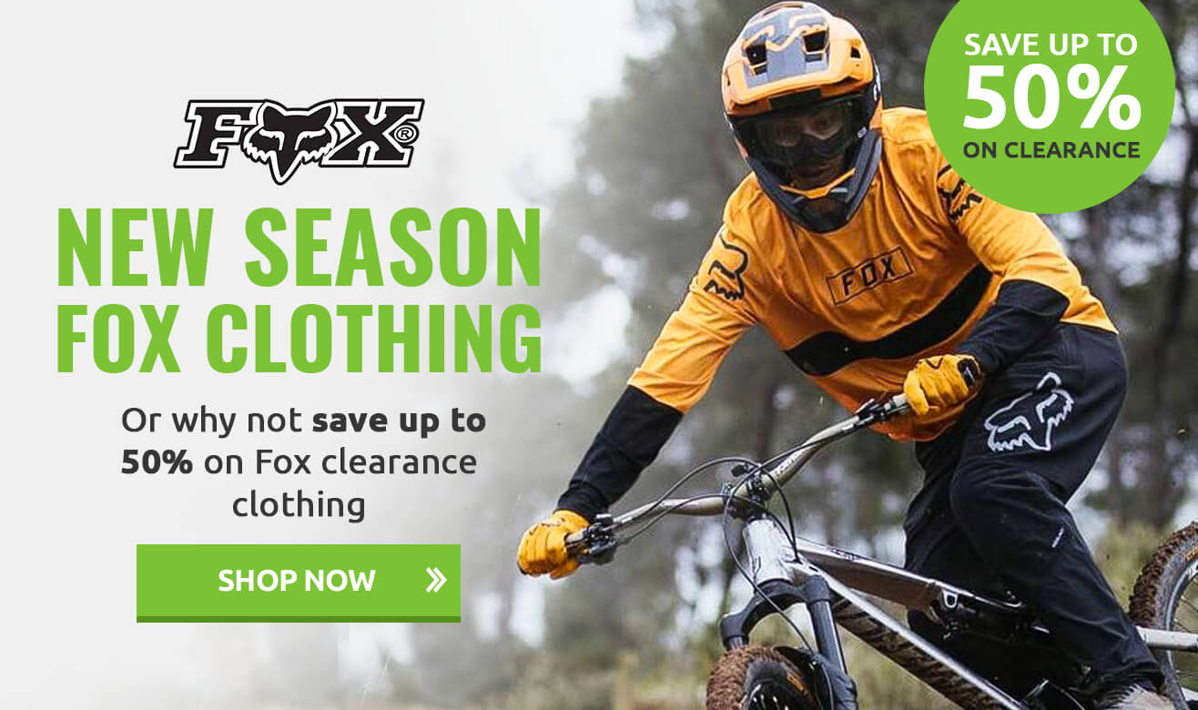 Save up to 50% on Clearance Fox Clothing