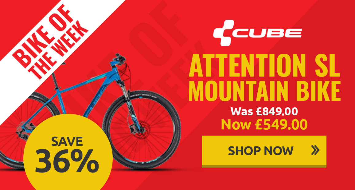Save on Cube Attention SL Mountain Bike