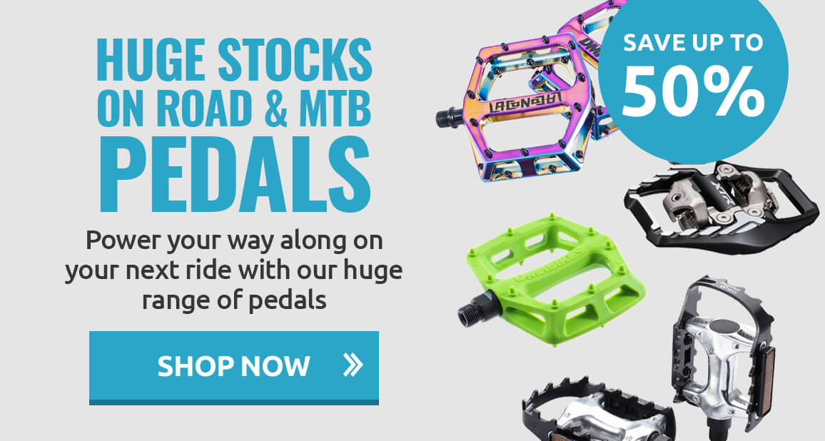 Save on Road & MTB pedals