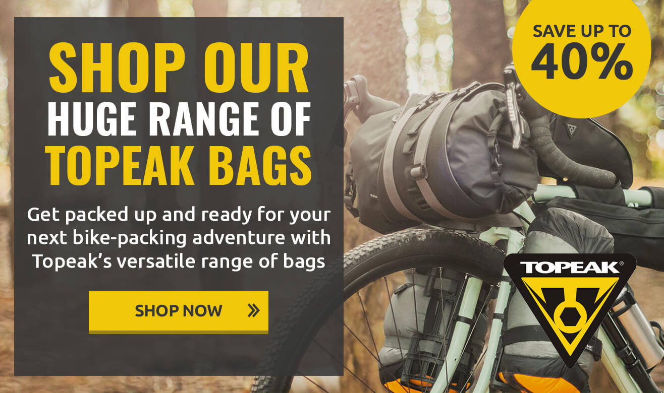 Save up to 40% on Topeak Bags