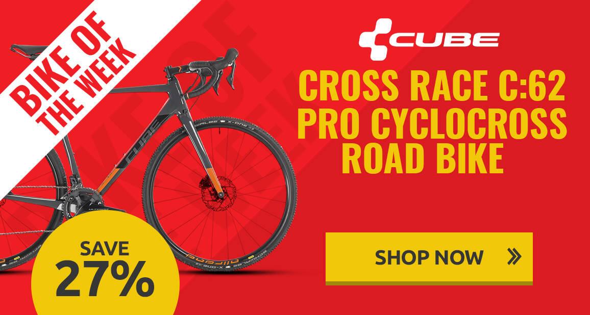 Bike of the week - Cube Cross Race C:62 Pro Cyclocross Bike - 2019