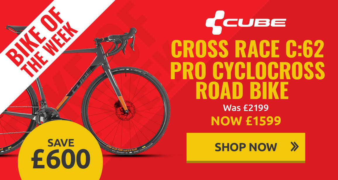 Bike of the week - Cube Cross Race C:62 Pro Cyclocross Bike - 2019