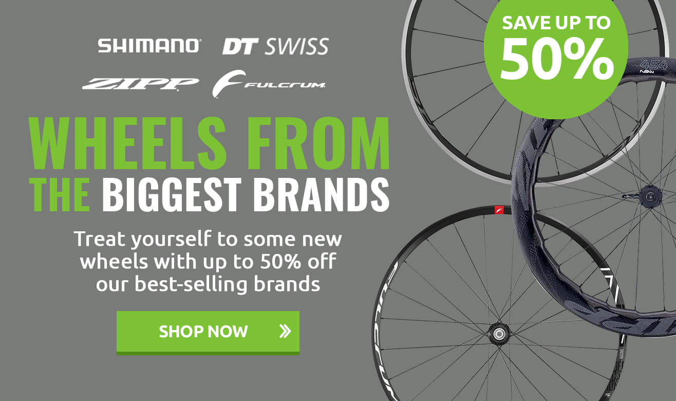 Save up to 50% on Best-selling Wheels