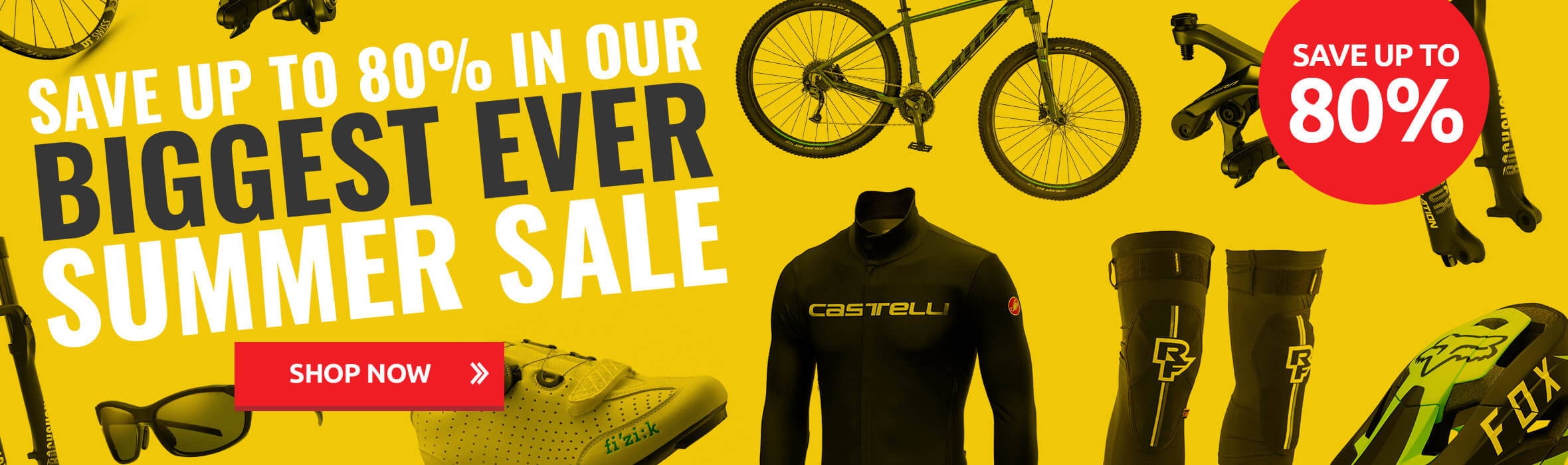 Save up to 80% in Our Biggest Ever Summer Sale