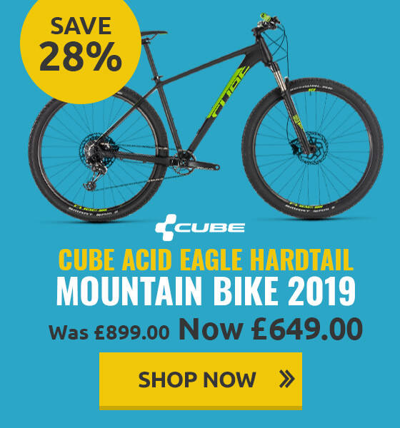 Cube Acid Eagle Hardtail Mountain Bike - 2019
