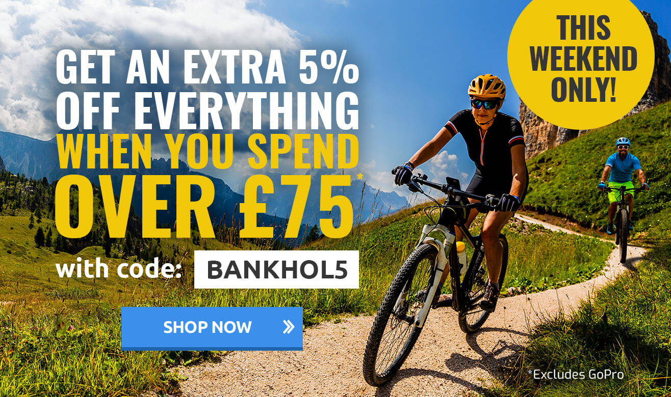 Get an Extra 5% Off Everything When You Spend Over £75 - BANKHOL5