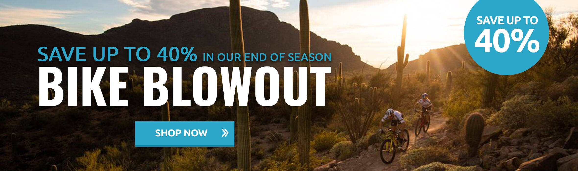 Save Up to 40% in Our End of Season Bike Blowout