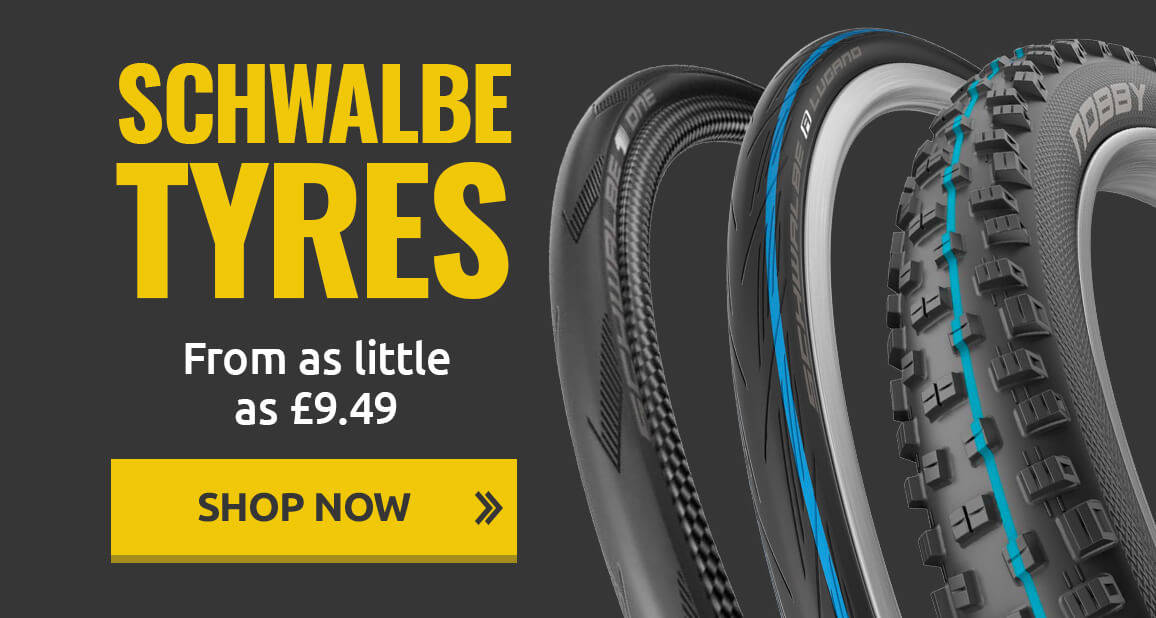 Schwalbe Tyres - From as little as £9.49
