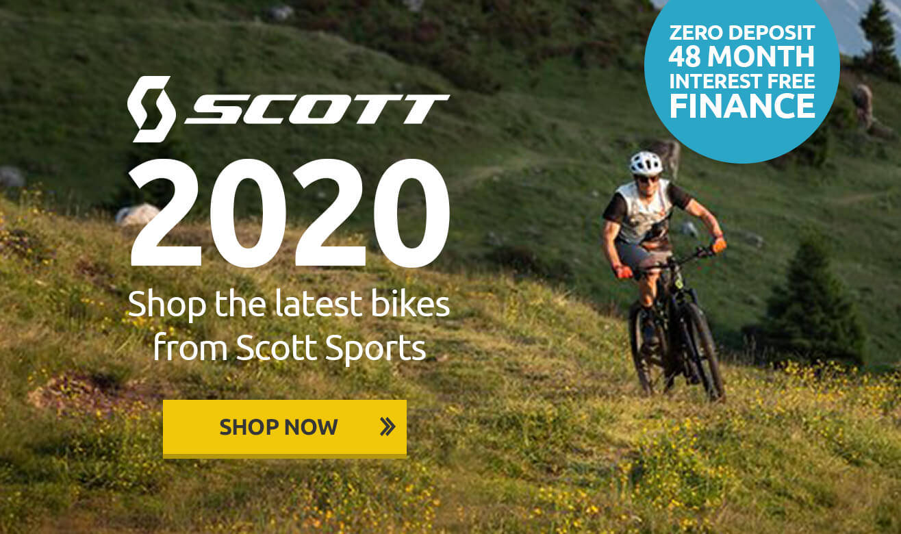 Scott 2020 Bike Range - Zero Deposit 48 Month Interest Free Finance