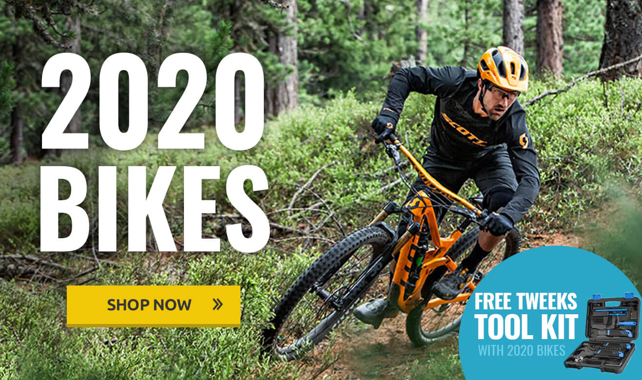 Free Tweeks Tool Kit with 2020 Bikes