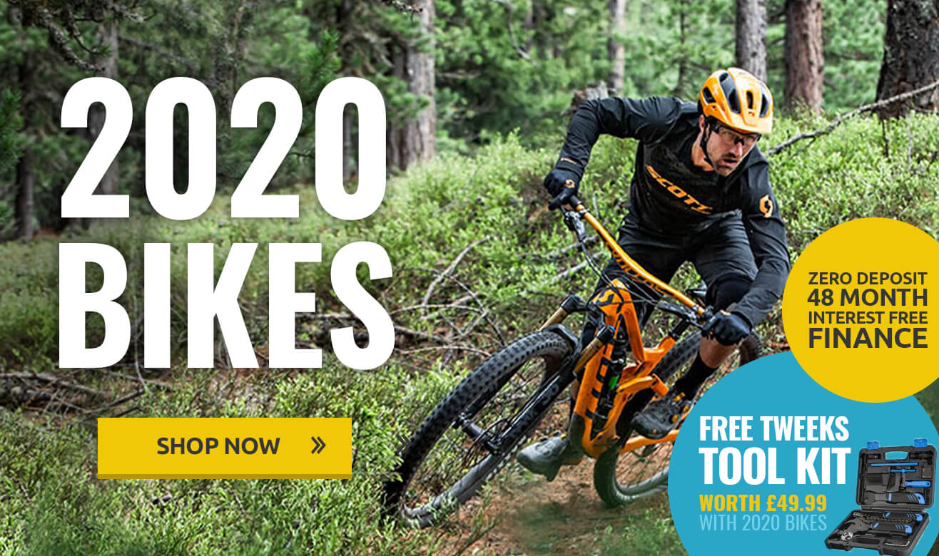 2020 Bikes - Zero Deposit Interest Free Finance and Free Tweeks Tool Kit