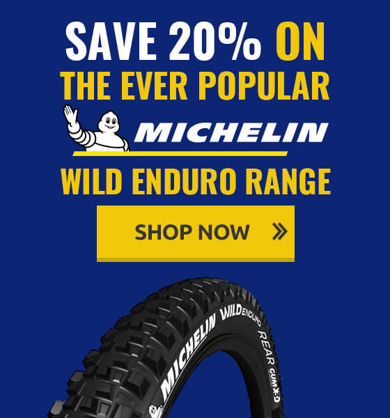 Save on the ever popular Michelin Wild Enduro Range