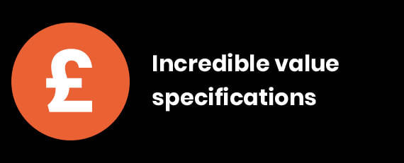 Incredible value specifications