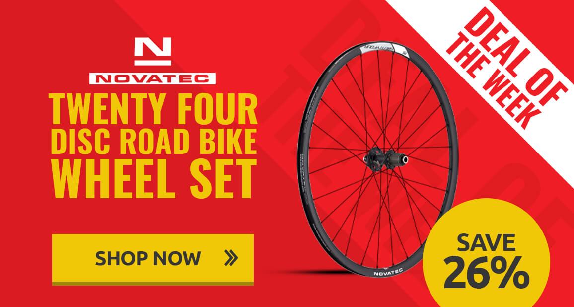 Novotec Twenty Four Disc Road Bike Wheel Set
