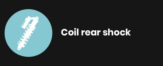 Coil rear shock
