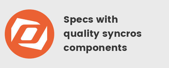 Spec's with Quality Syncros Components