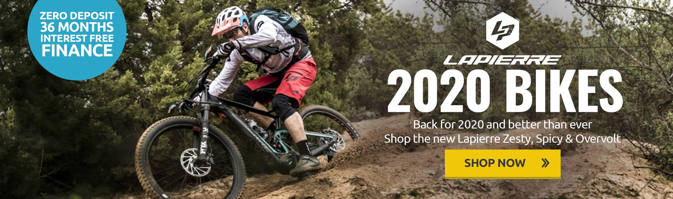 Lapierre 2020 Bikes - Zero Deposit Interest Free Finance Available - FREE Tweeks Tool Kit